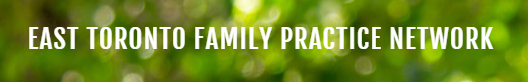Logo of East Toronto family practice network